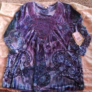 Adorable NWT BoHo Shirt